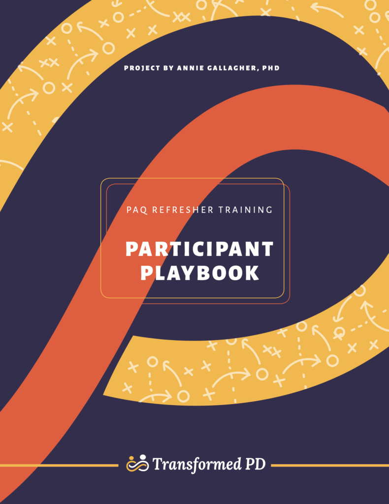 Additional Refresher Training Participant Playbook 2021
